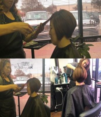 Haircut/styling